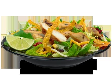 A Southwest rau xà lách, salad from McDonalds. :)