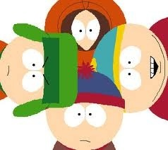 I defanatly know kenny Is the one with the orange hood who doesn't talk much. kyle is the little Jewish kid who wears the green hat and is you've seen him take his hat off he's got big puffy ginger hair.Erick aka cartman he is the FAT one he's got on a light blue hat on and a red coat on. Last but 