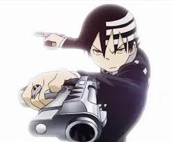 I don't think of anyone as hot, but amazing. Here is the uh, um hottest anime guy; at least to me. Death The Kid from Soul Eater.