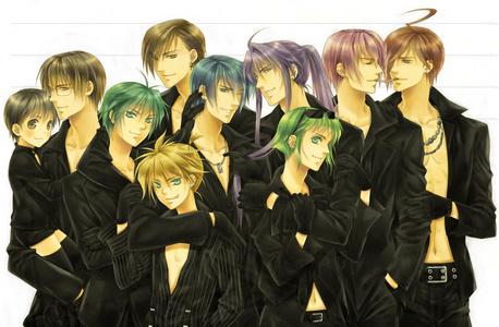 Sexy Vocaloid guys X3