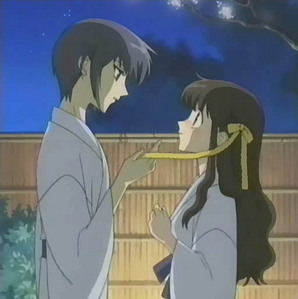 Tohru's presents Yuki-ribbons Momigi-a trip to the hot spring with Kyo and Yuki Kyo-he's coming