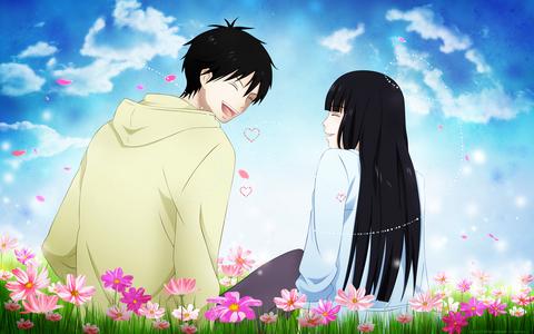 Kazehaya and Sawako