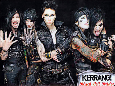 bởi Black Veil Brides: The legacy: ...Black Hearts with growing battle scars.... the Legacy, born from a dream long leather wings rose from the streets with the hands on destiny.....