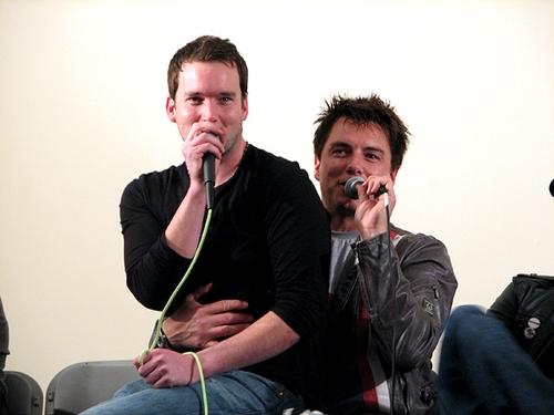 John Barrowman with Gareth David-Lloyd♥