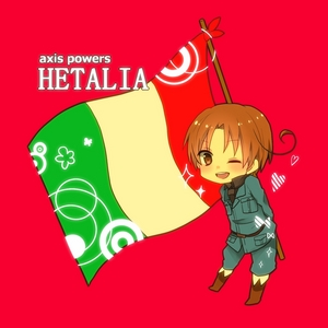 Um...Italy from Hetalia? Hetalia's name combines the words Hetare - Useless, and Italia - Italy. So this works right? xD