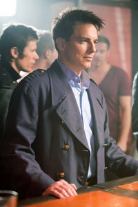 John Barrowman as Captain Jack Harkness at a bar :)