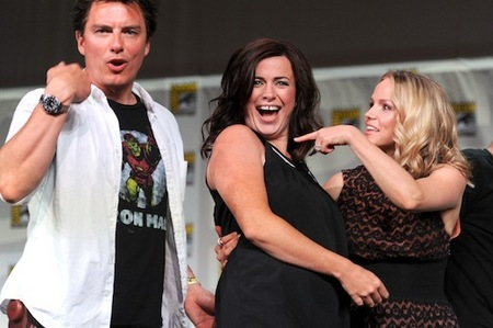 John Barrowman has appeared in 23 tv shows. And he has appeared in 33 theatre shows.
