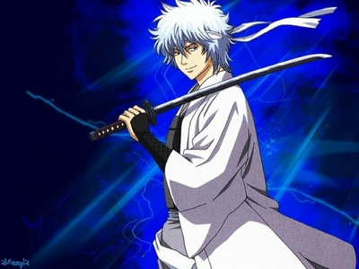 Gintama- main character is Gintoki:D