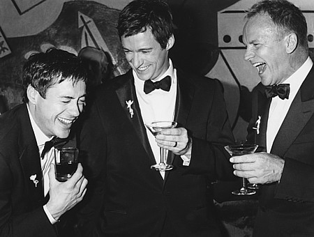 Robert Downey Jr., Hugh Jackman and Sting