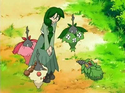 Cheryl from Pokémon.