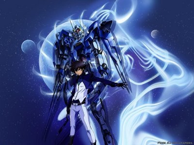 Funny u ask this প্রশ্ন now, i just started watching this series Setsuna f Seiei - Mobile Suit Gundam 00