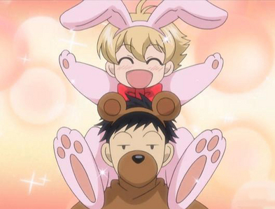 Honey and Mori from Ouran High School Host Club.