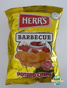 The best BBQ chips ever...Herr's