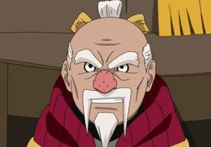 The Tsuchikage's big nose.