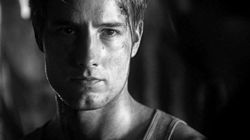"""Justin in a кепка, колпачок from """"Dominion"""", being extra-hot once again"""