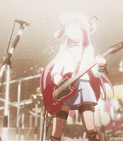 Yui from ángel Beats! Her voice annoyed me and I used to kinda dislike her, but later when I saw her past and why she acts like that, I started to amor her! ^^