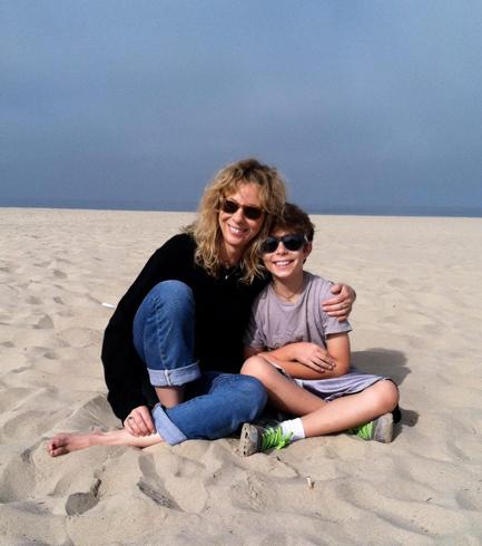 Ben Knepper and his mum