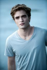 my handsome Robert in Eclipse wearing a light blue shirt<3