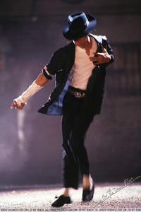 I 愛 Black または White (especially at the end, Black パンサー dance), Smooth Criminal, Bad, Thriller..:) These are my お気に入り ♥