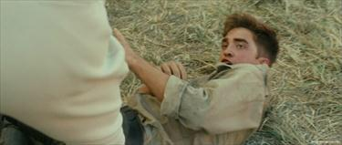 my Robert about to be hit por Christoph Waltz in a scene from Water for Elephants.Don't you dare hurt my baby!!!!!!!!!!!!!!!!!!!<3