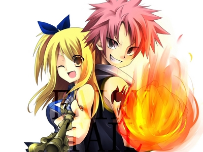 Lucy from Fairy Tail, I didn't like her at first, but now I like her :3