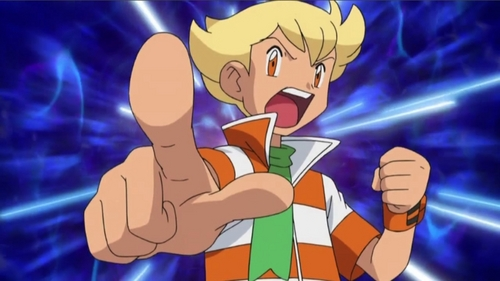 Of course I like him physically. I think the Pokemon company did a good job when they thought of how to デザイン him. He is even one of my お気に入り characters.