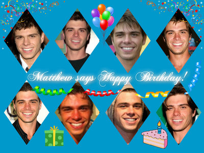 Happy Birthday! My birthday just passed on March 8th. I turned 29. (My crush, Matthew Lawrence pictured)