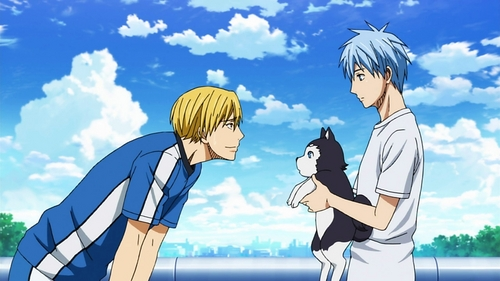 All of my classmates and friends...and siblings keep telling me I'm just like Kise from KnB... Etto..I feel like Kurokocchi at times...Jeez I don't know...