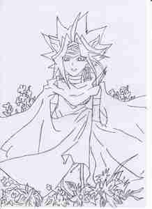 Atem from Yu-Gi-Oh (Crappy quality, i know...)