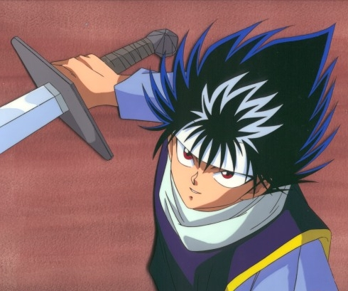 Hiei-kun from the Аниме Yu Yu Hakusho has red eyes!