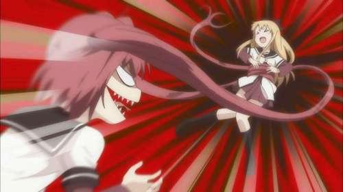 Akari-chan goes psycho.