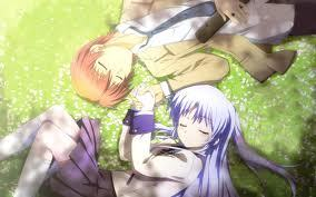 You should watch Angel beats! ts just as sad as sword art online! Its also funny, at the end I bet you'll cry if not.....Your not human! Angel beats is about a world that you come to after you die, it has lots of fighting, but instead of swords they use guns. I hope you enjoy angel beats!