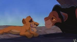 Simba and Scar switched bodies!! XD