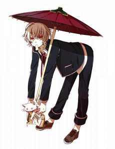 my inayopendelewa character is shiro and his cute little neko!