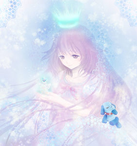 Kobato with her spiritual crown ;-;