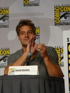 Justin at the ヤング・スーパーマン Panel, Comic Con 2010 <333