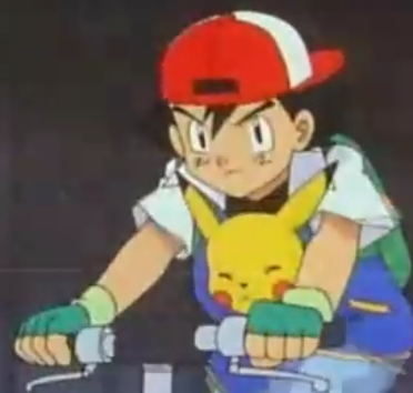 Satoshi-kun (Ash in the english dub) and Pikachu from the عملی حکمت Pokemon!