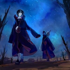 Itachi and Kisame. :3
