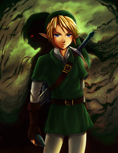 Well,the last game I was playing was Legend of Zelda:Twilight Princess. So,Link would be hunting me down,him یا Midna. ... [i] Crap. [/i]