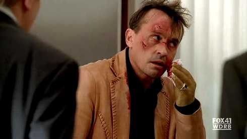 my beaten up Robbie. this scene was actually very funny