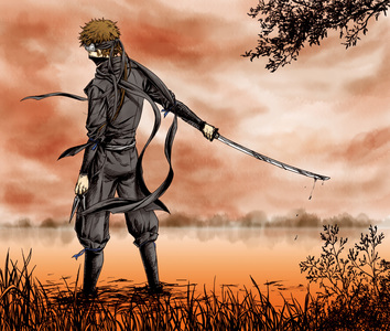 Wizards are cool but i'm go'n with Ninja, they're skilled in hand to hand combat, in weaponry, stealth and assassination Susumu Yamazaki - Hakuouki