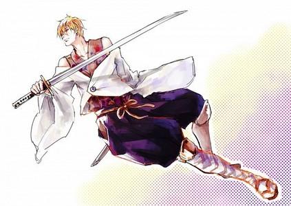 I'm a samurai~