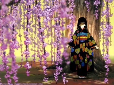 Enma Ai ((Kimonos count, right?!))