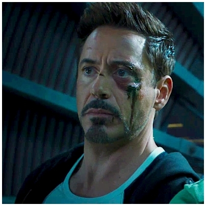 I guess Tony's 下一个 adventure is a bit bloody , yes...