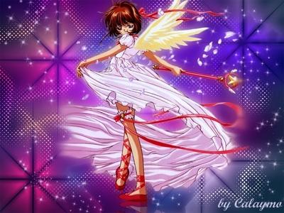 Sakura from cardcaptor sakura!! :D