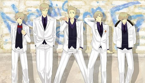 The Nordic brothers from Hetalia!! ^3^