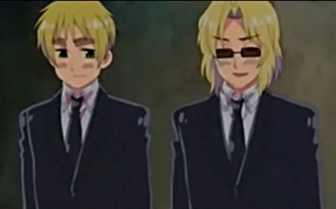 France and England ( From Hetalia. )