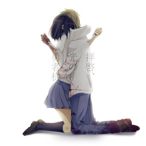 post two anime characters hugging - Anime Answers - Fanpop | 300 x 300 jpeg 16kB