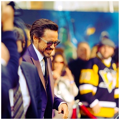 Downey with colourful background :]