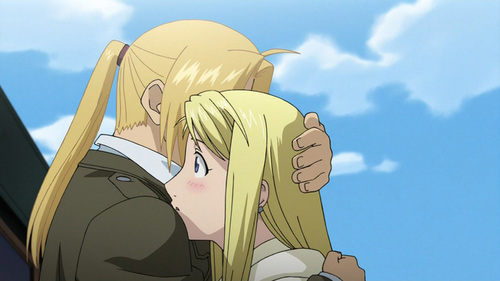 Anime Characters Hugging : What is your favorite quot hug scene in an anime